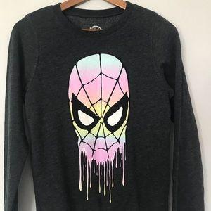 Marvel Spider Man : Grey Pullover